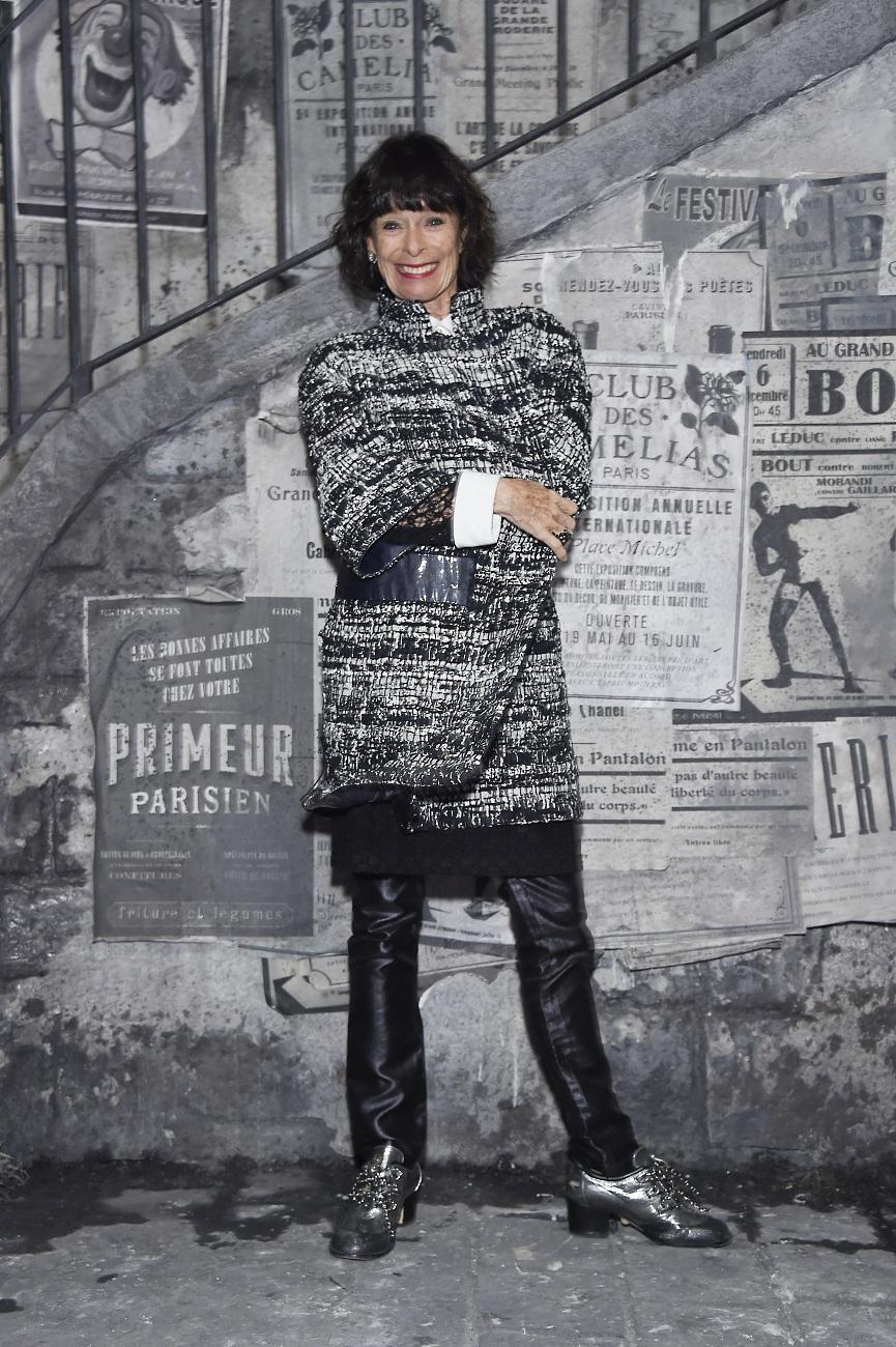 Geraldine CHAPLIN chanel fashionela