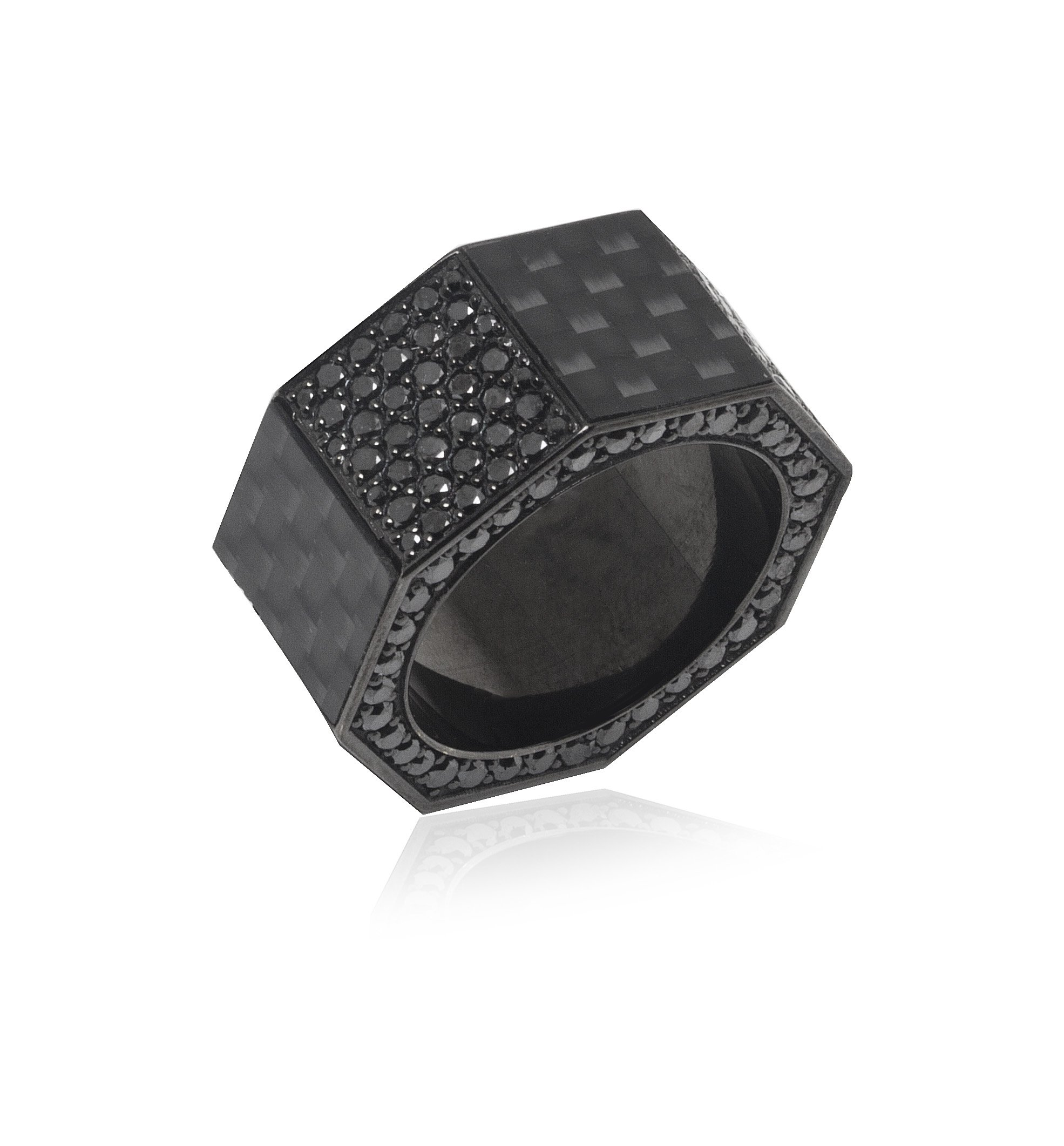 JBH Carbon Fiber Nut Ring