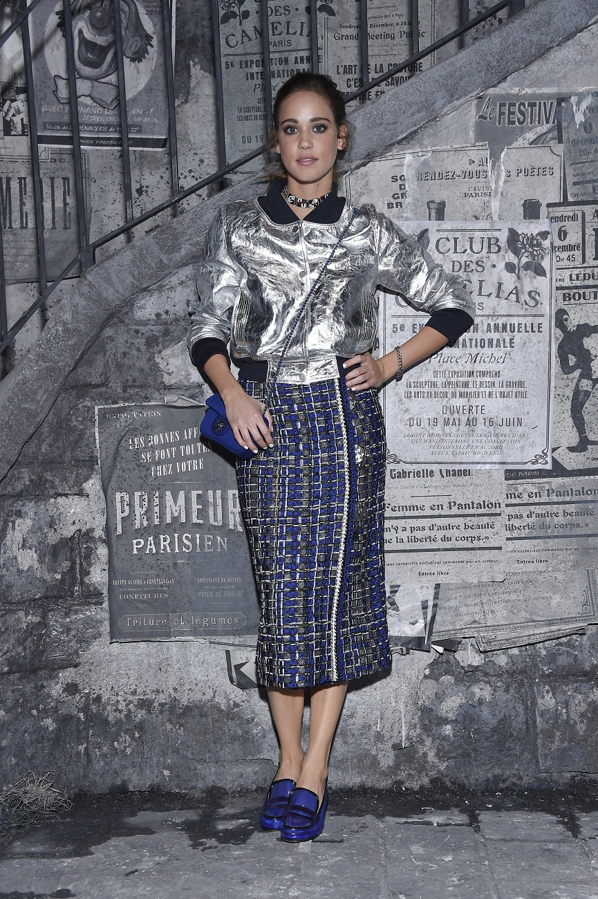 matilda lutz chanel fashionela
