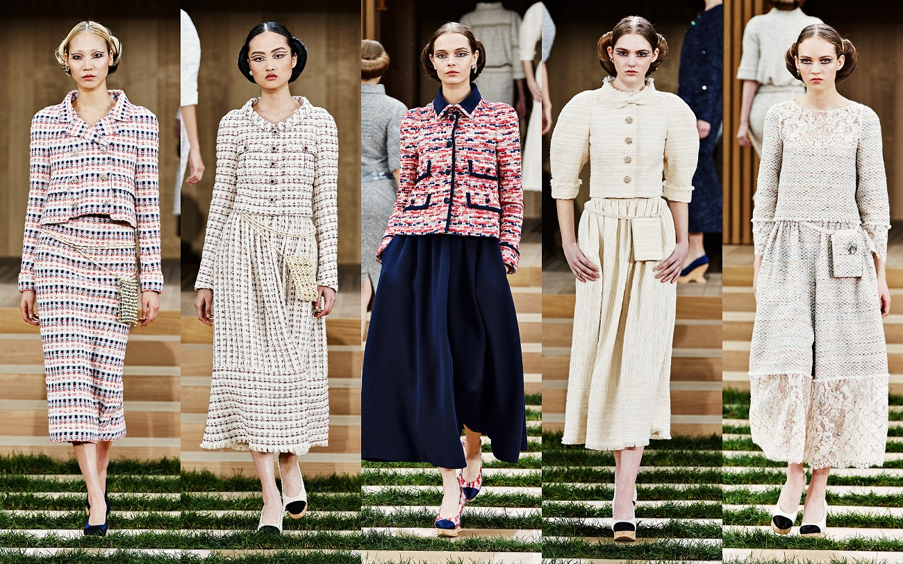 Chanel Spring Summer 2016 Haute Couture Collectionfashionela