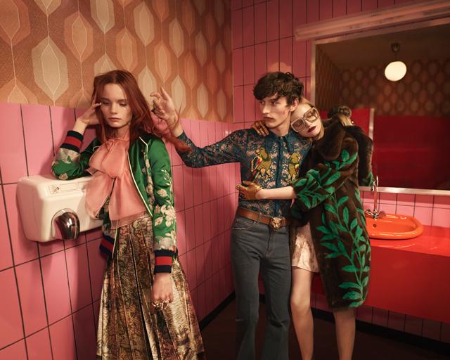 Gucci Spring/Summer 2016 campaign Fashionela