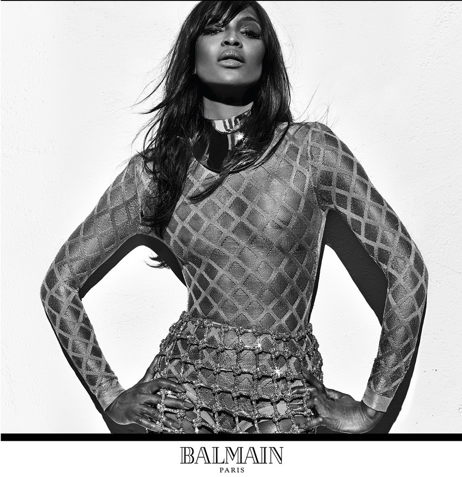 balmain supermodels fashionela