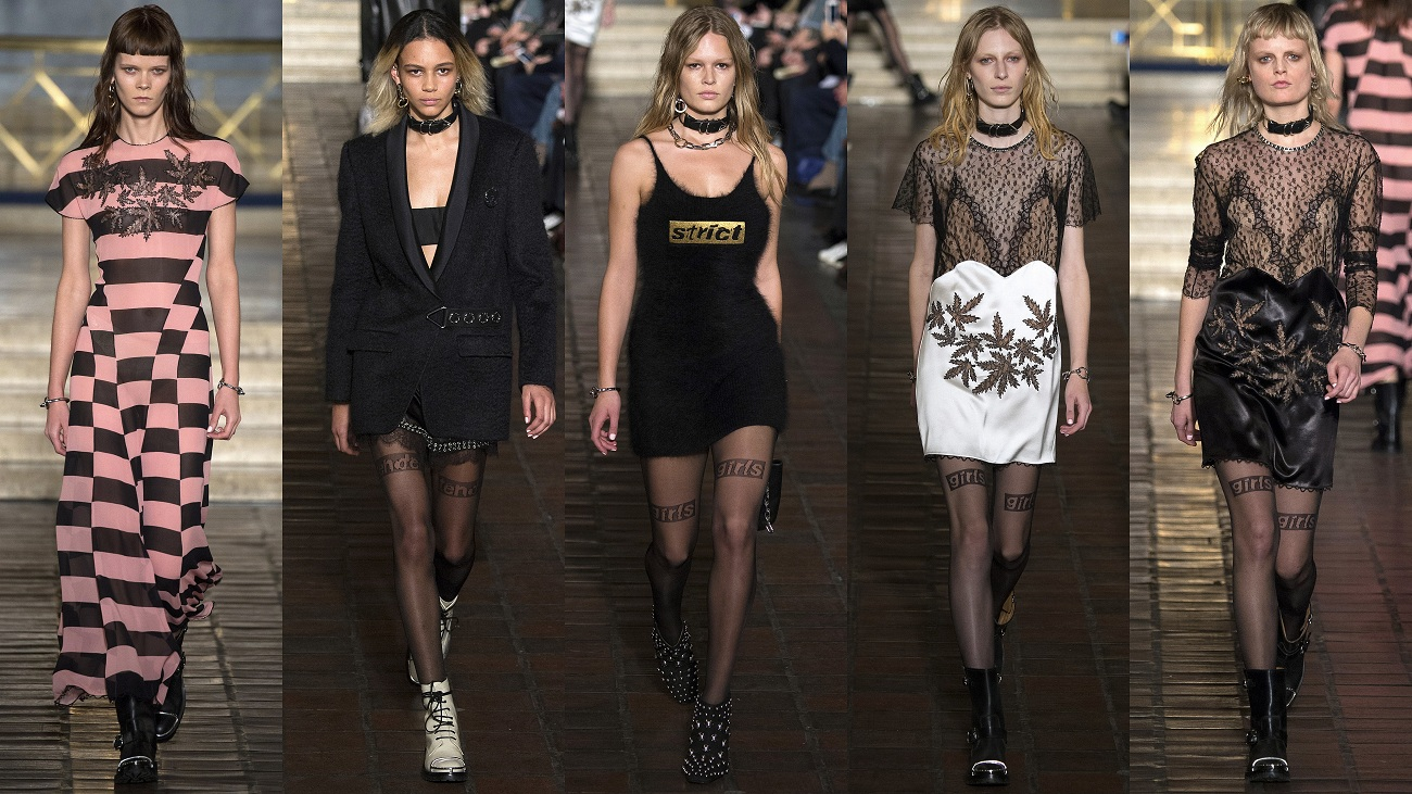 Alexander Wang Fall 2016 Fashionela