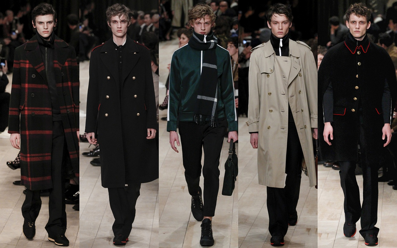 Burberry Fall 2016 Fashionela