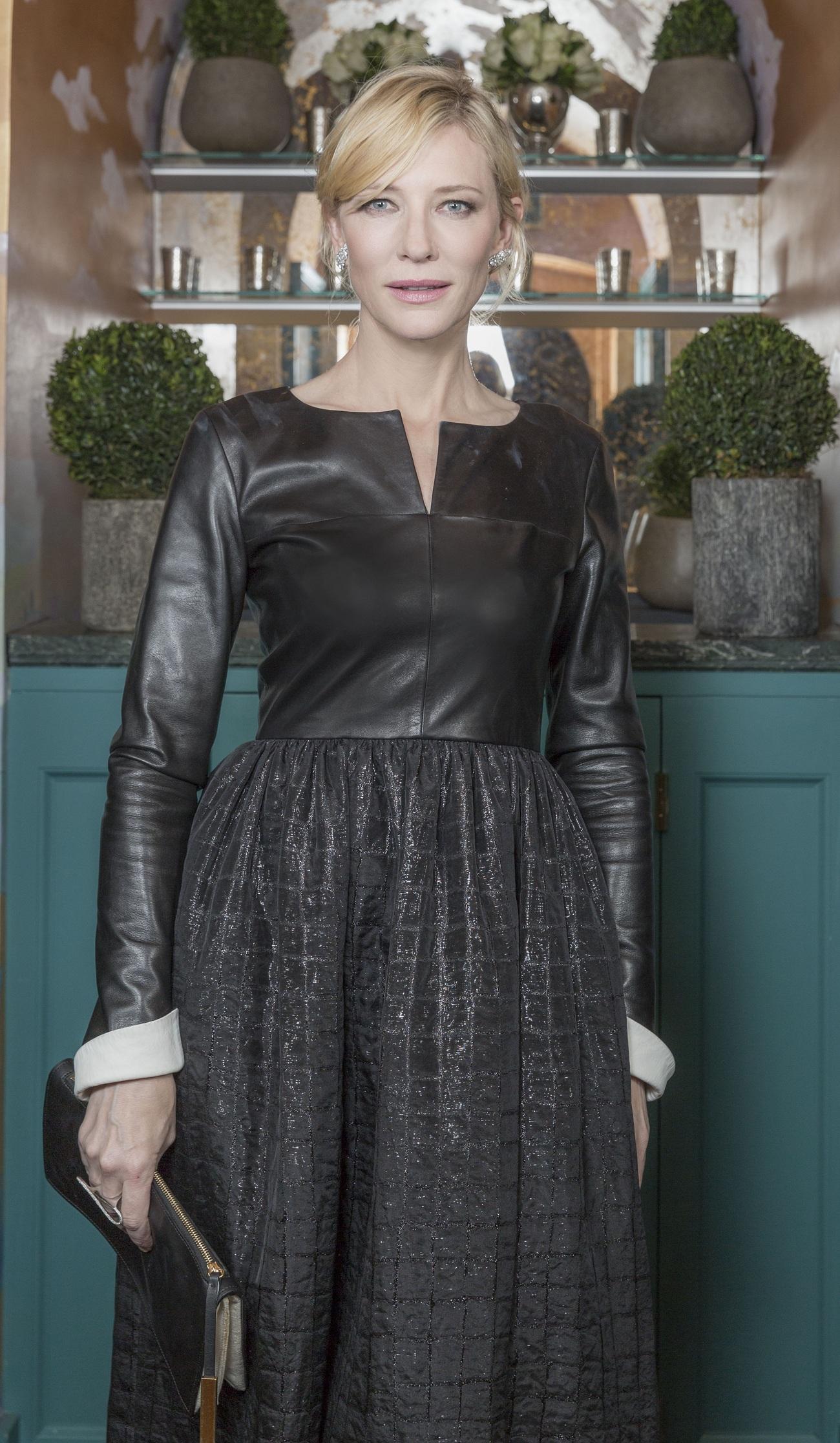 Cate Blanchett Chanel Pre-Bafta Fashionela