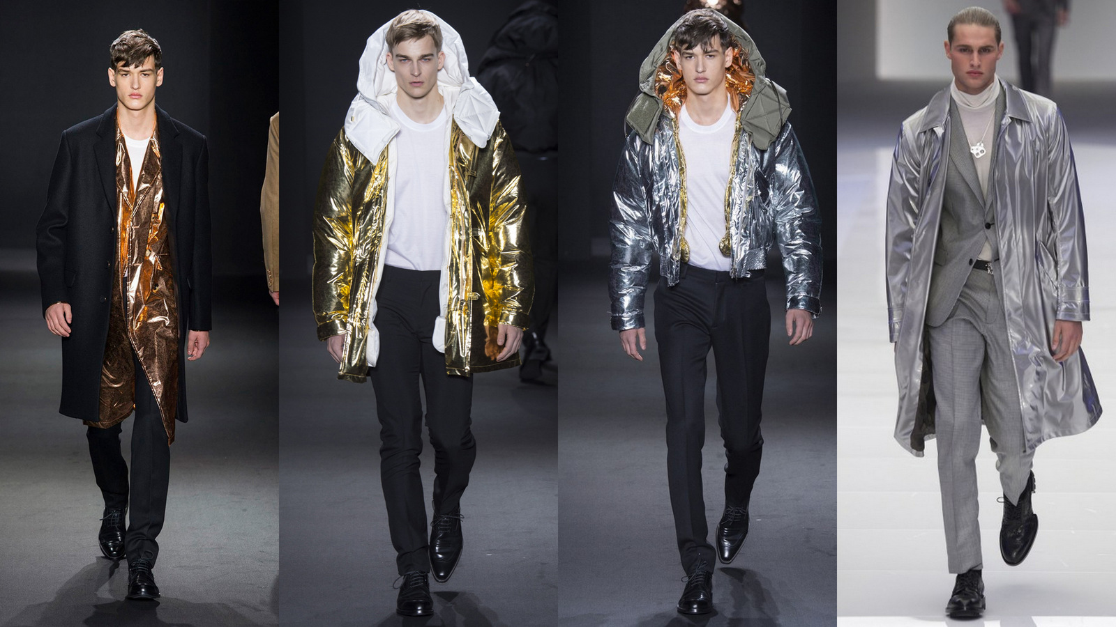 Metallics Fashionela Menswear Fall 2016
