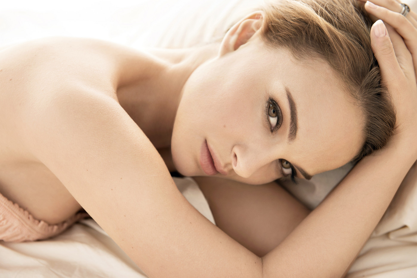 Natalie Portman for DIOR, by Frederic Auerbach