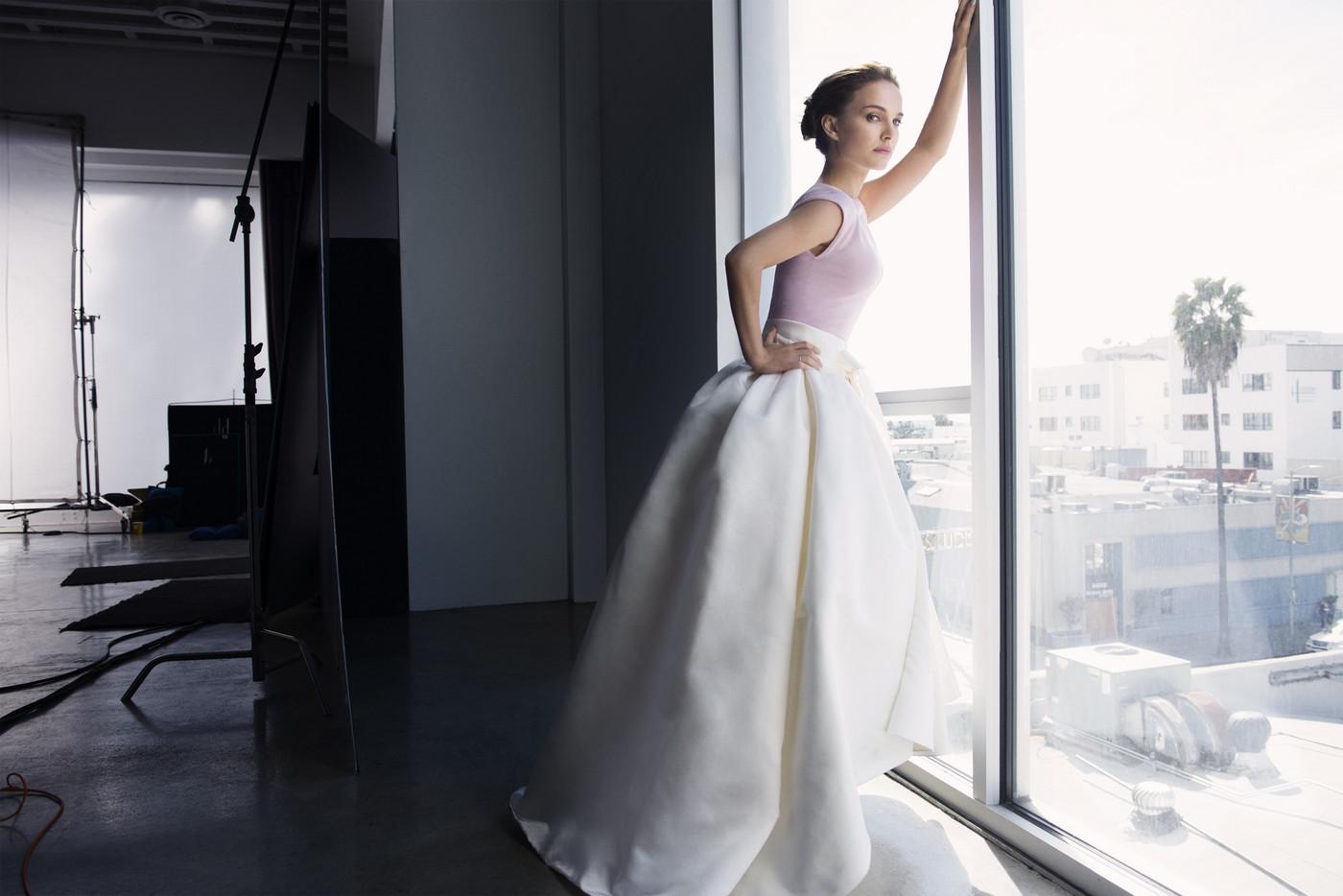 Natalie Portman for DIOR, by Frederic Auerbach