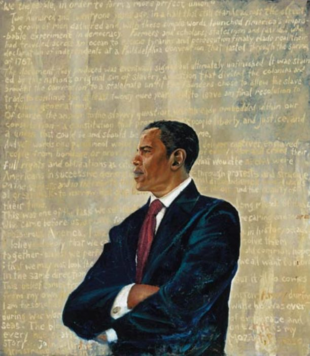 President Barack Obama by Chaz Guest