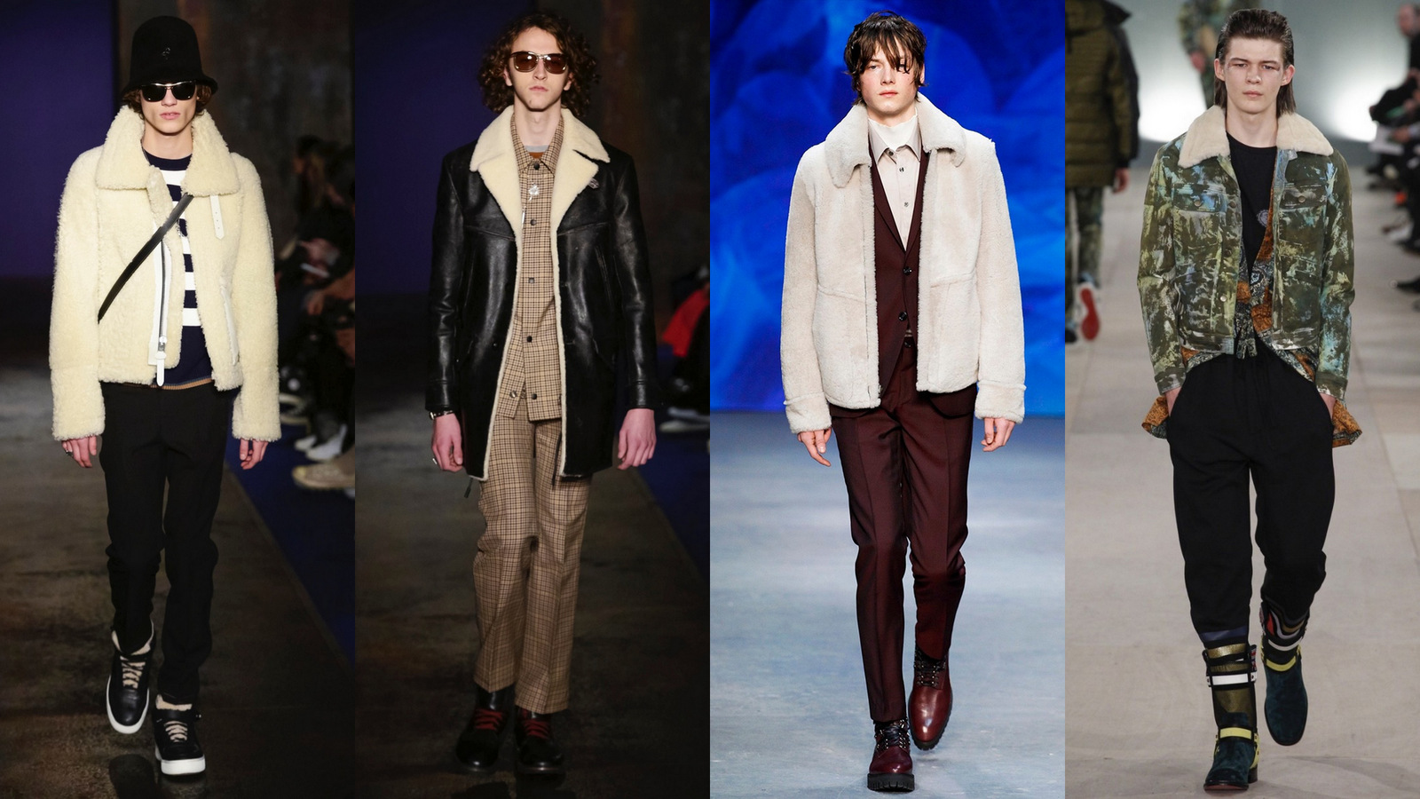Shearling Menswear Fall 2016 Fashionela