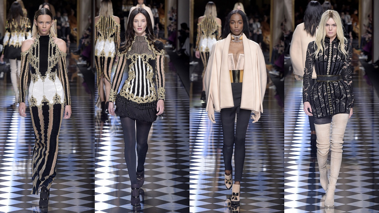Balmain Fall 2016 Fashionela