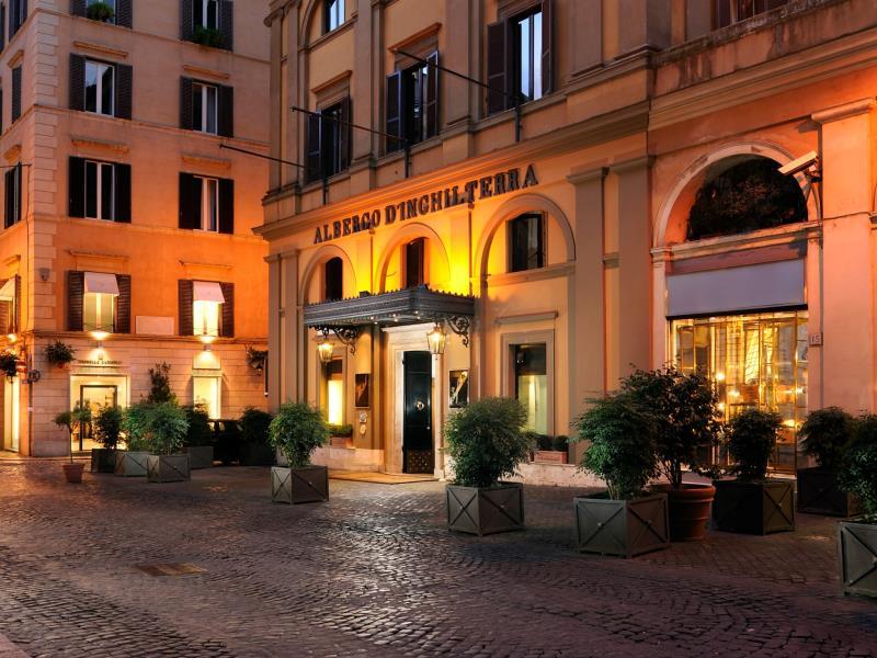 Hotel d'Inghilterra Rome Fashionela