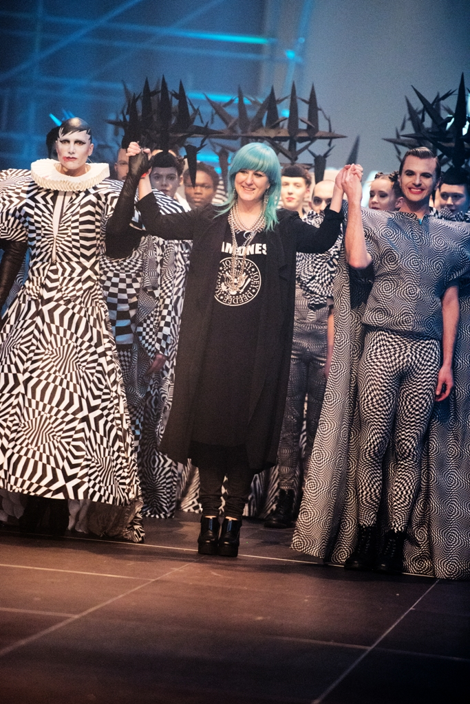 Ivana Pilja at the Berlin Alternative Fashion Week