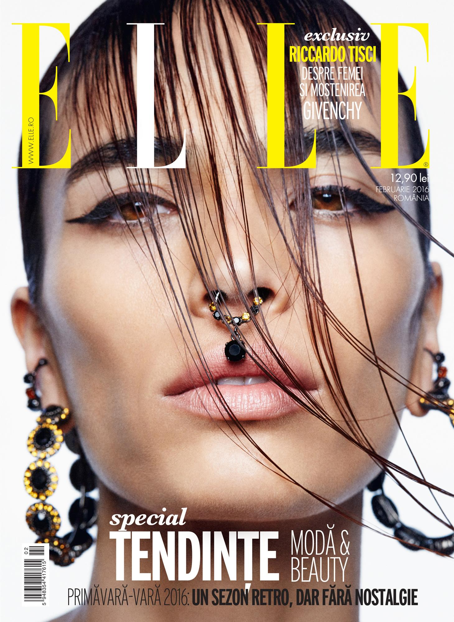 Marie Meyer for Elle Romania February 2016 Cover