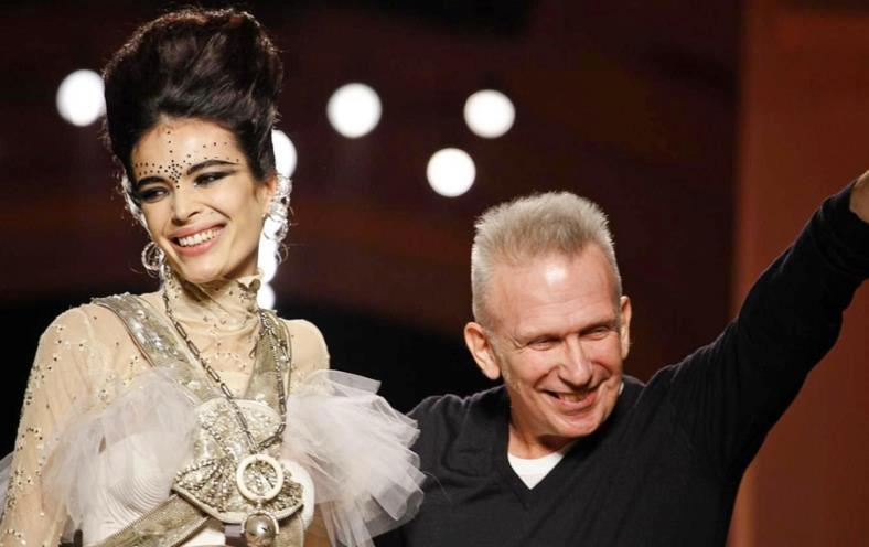 Marie Meyer and Jean Paul Gaultier