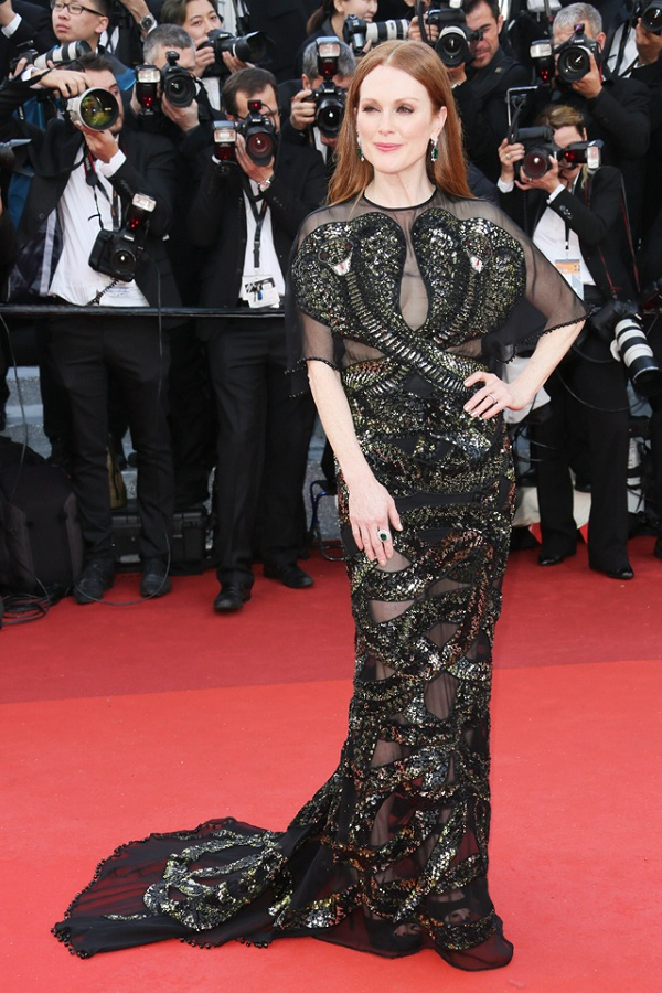 Julianne Moore cannes fashionela