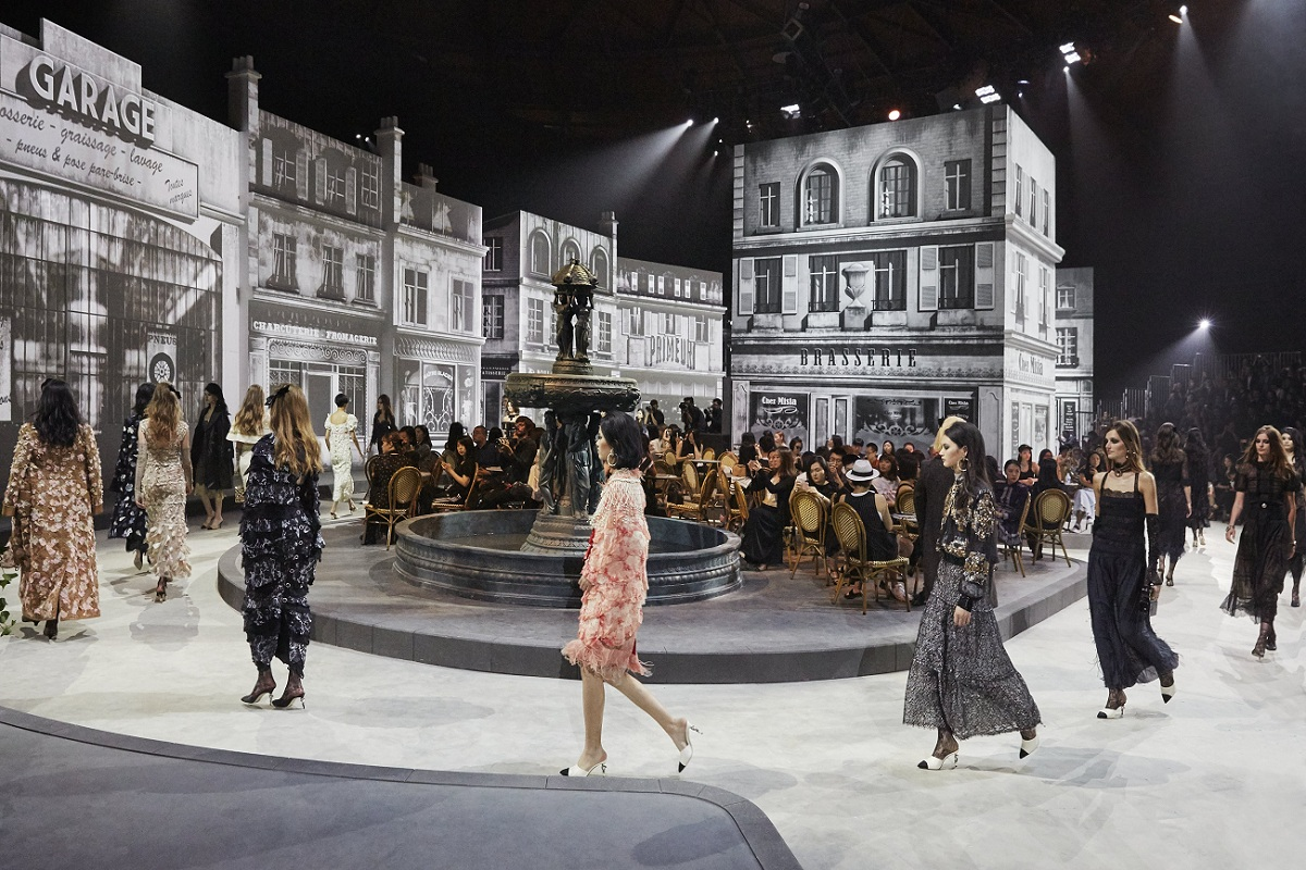 Chanel Paris in Rome show in Beijing Fashionela