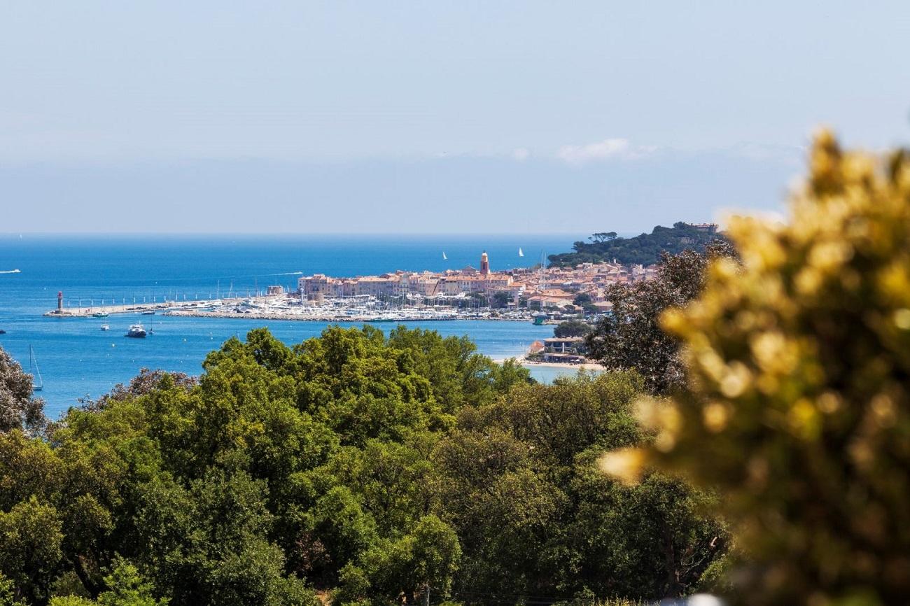 Villa Belrose Background St Tropez