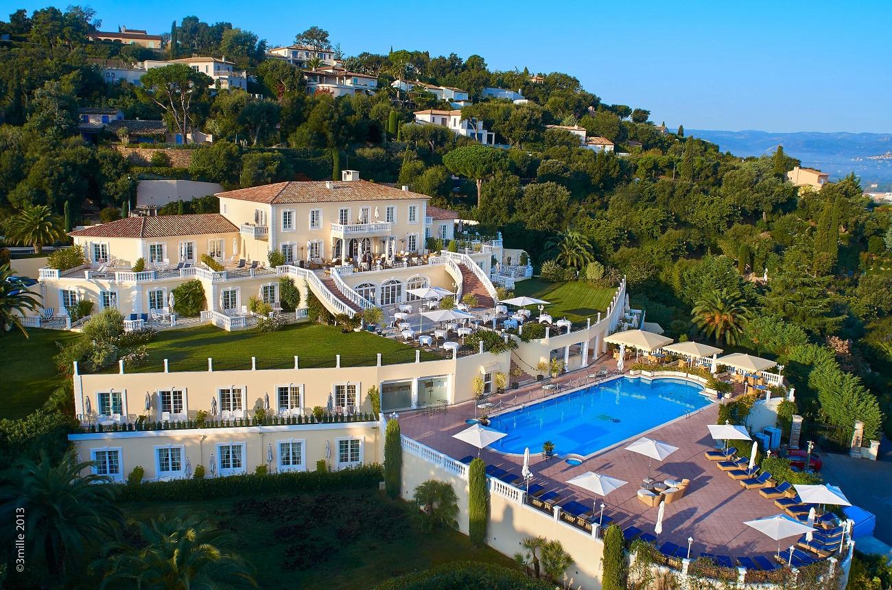 Villa Belrose St Tropez View