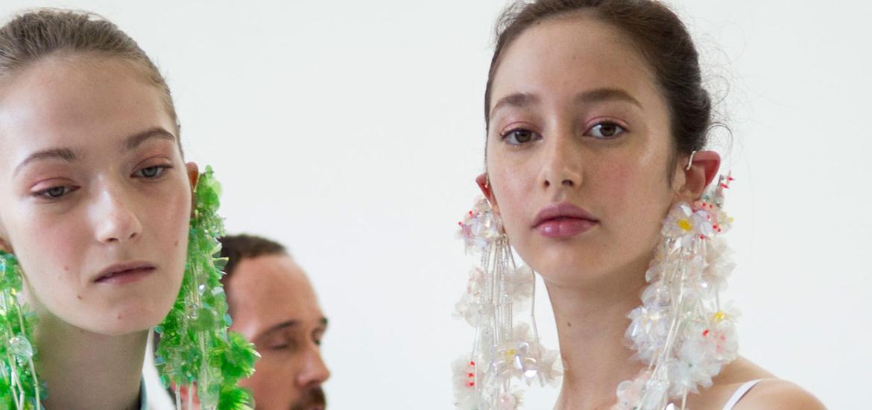 delpozo earrings spring 2017