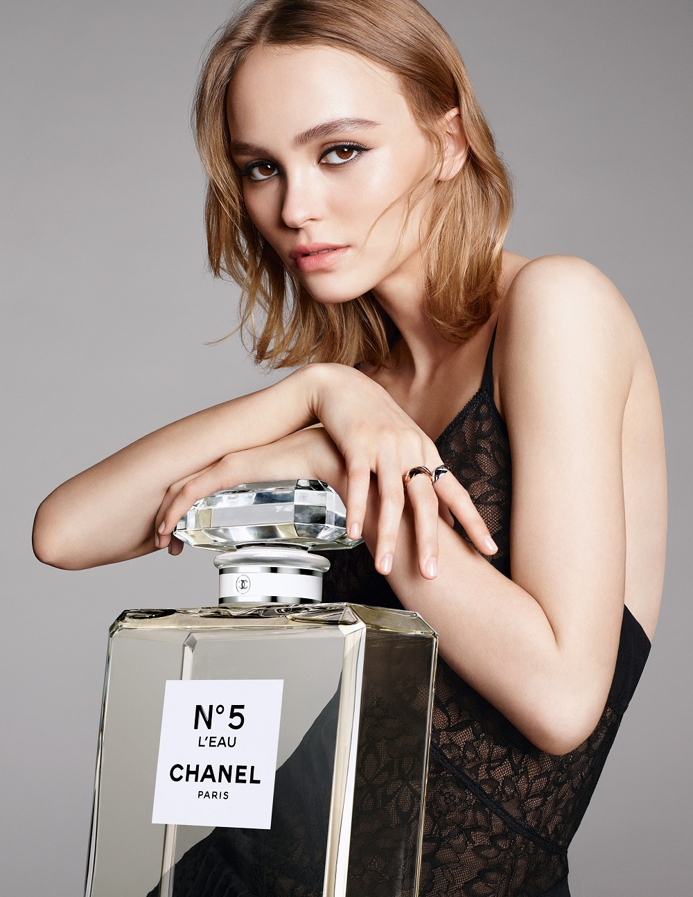 chanel lily rose depp fashionela