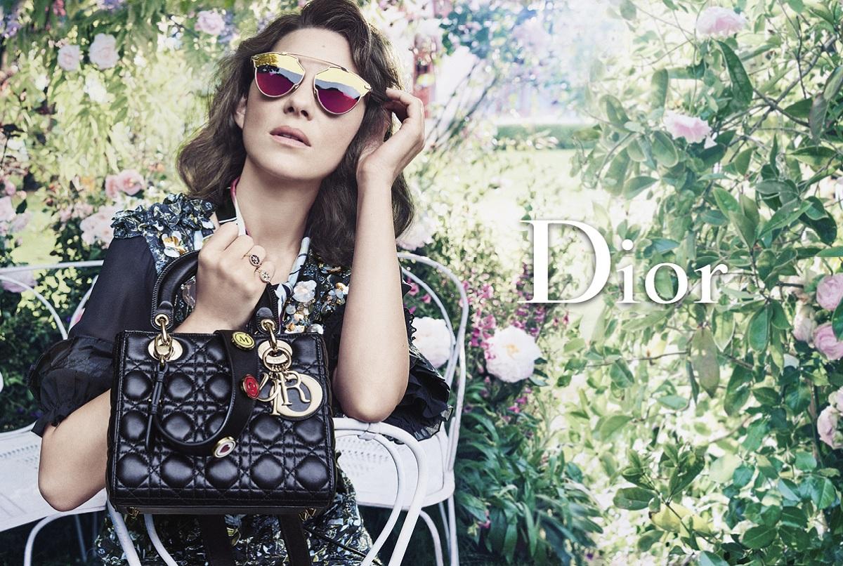 Dior Resort 2017 Marion Cotillard Fashionela