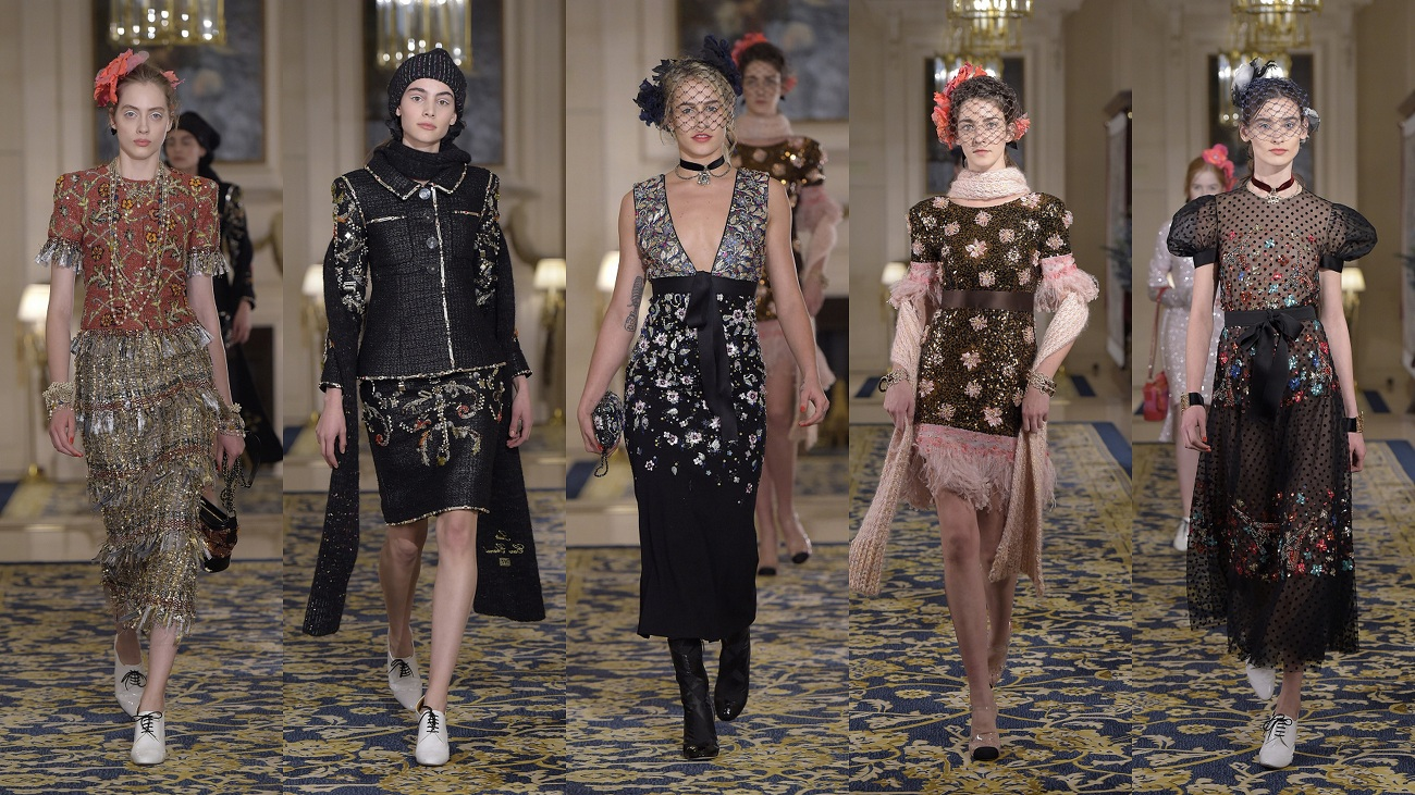 chanel metiers d art 2017 fashionela