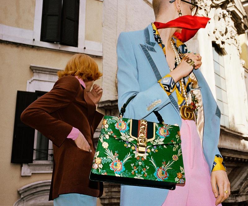 gucci spring summer 2017 campaign fashionela