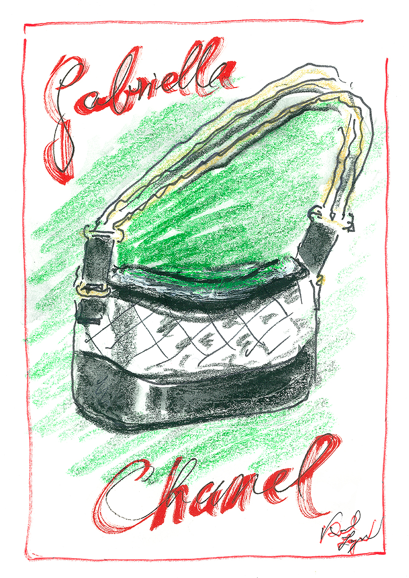 chanel gabrielle bag fashionela