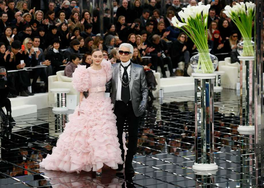 Chanel Spring 2017 Haute Couture Lily Rose Depp Fashionela