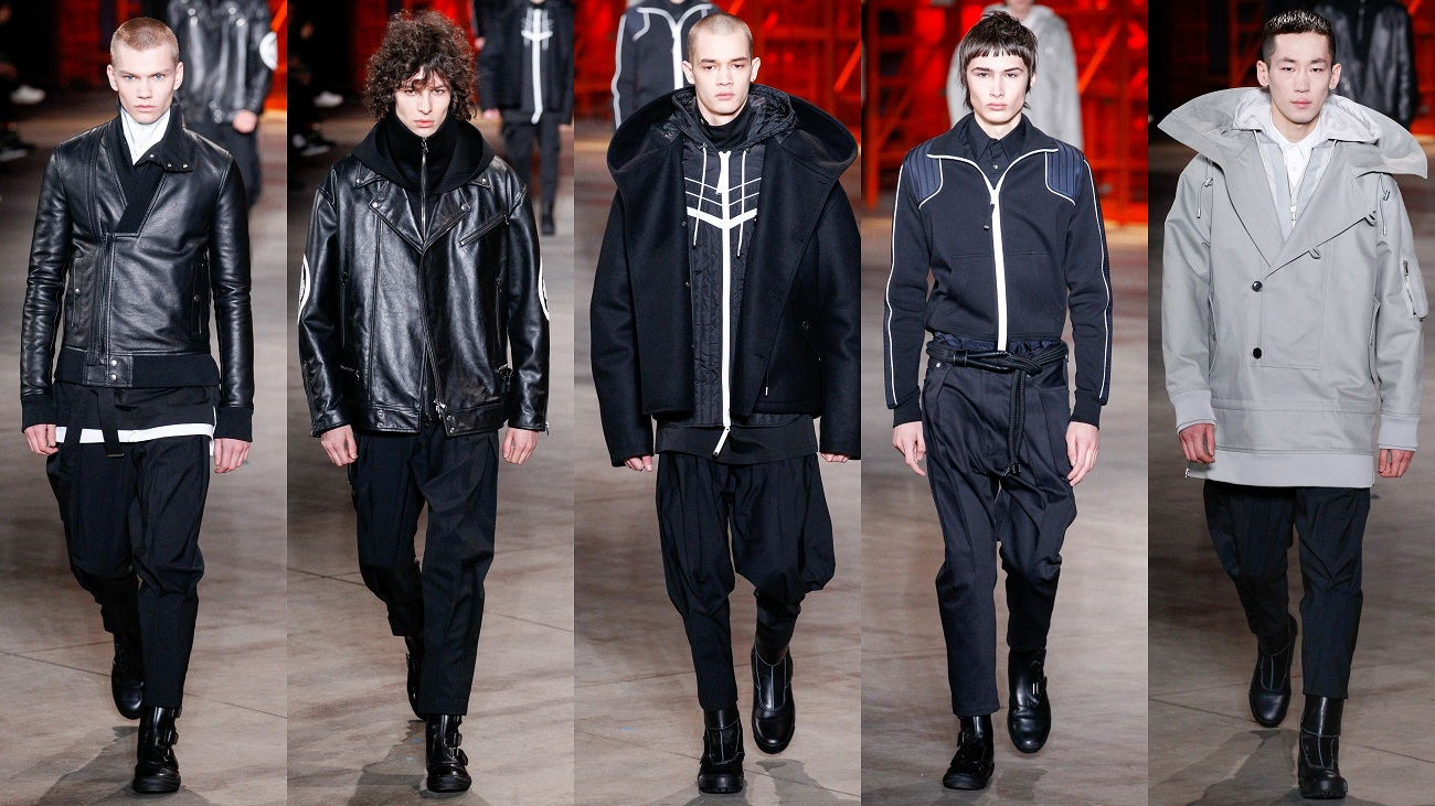 Diesel Black Gold menswear Fall collection Fashionela
