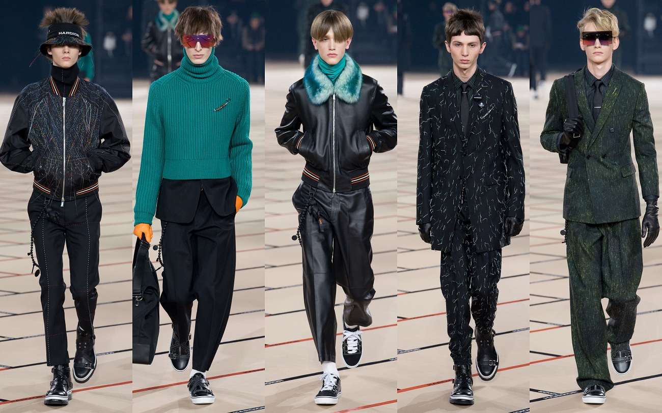 Dior Homme Fall 2017 collection Fashionela