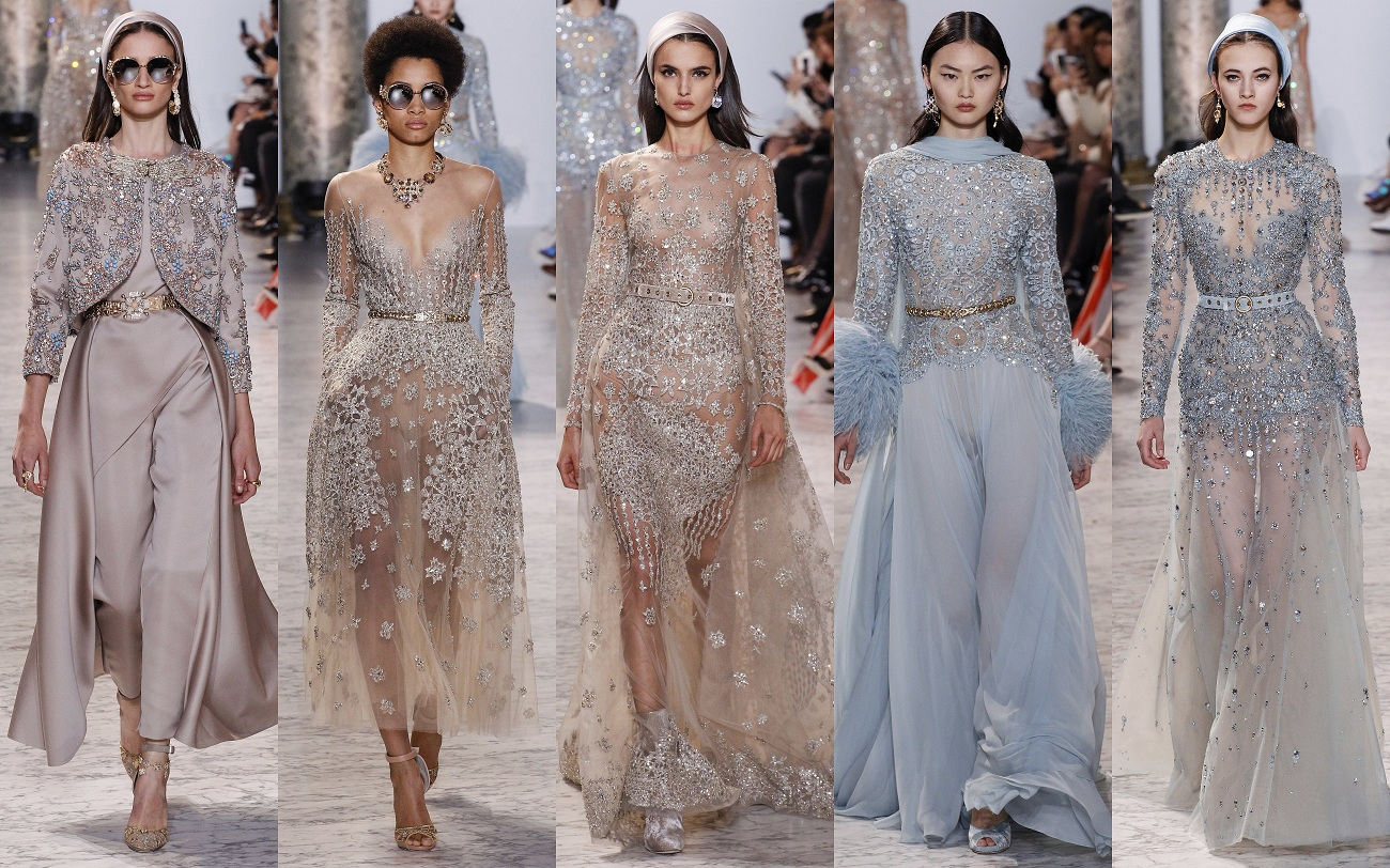 Elie saab spring 2017 haute couture collectionfashionela for La couture clothing