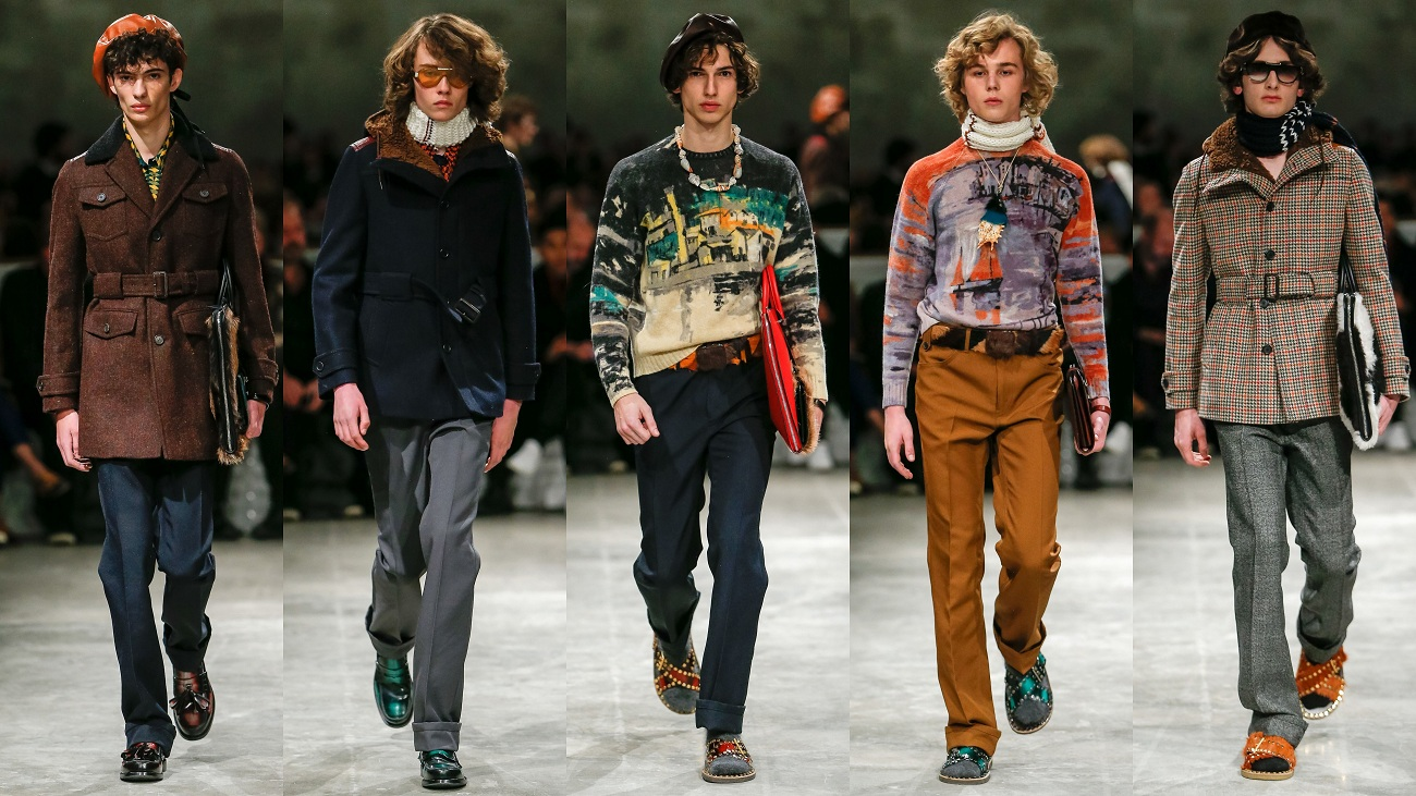 Prada Fall 2017 Menswear Collection Fashionela