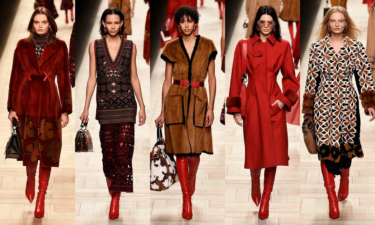 Fendi Fall 2017 Fashionela