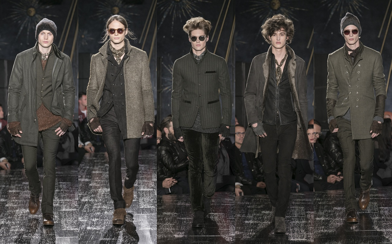 John Varvatos Fall 2017 Fashionela
