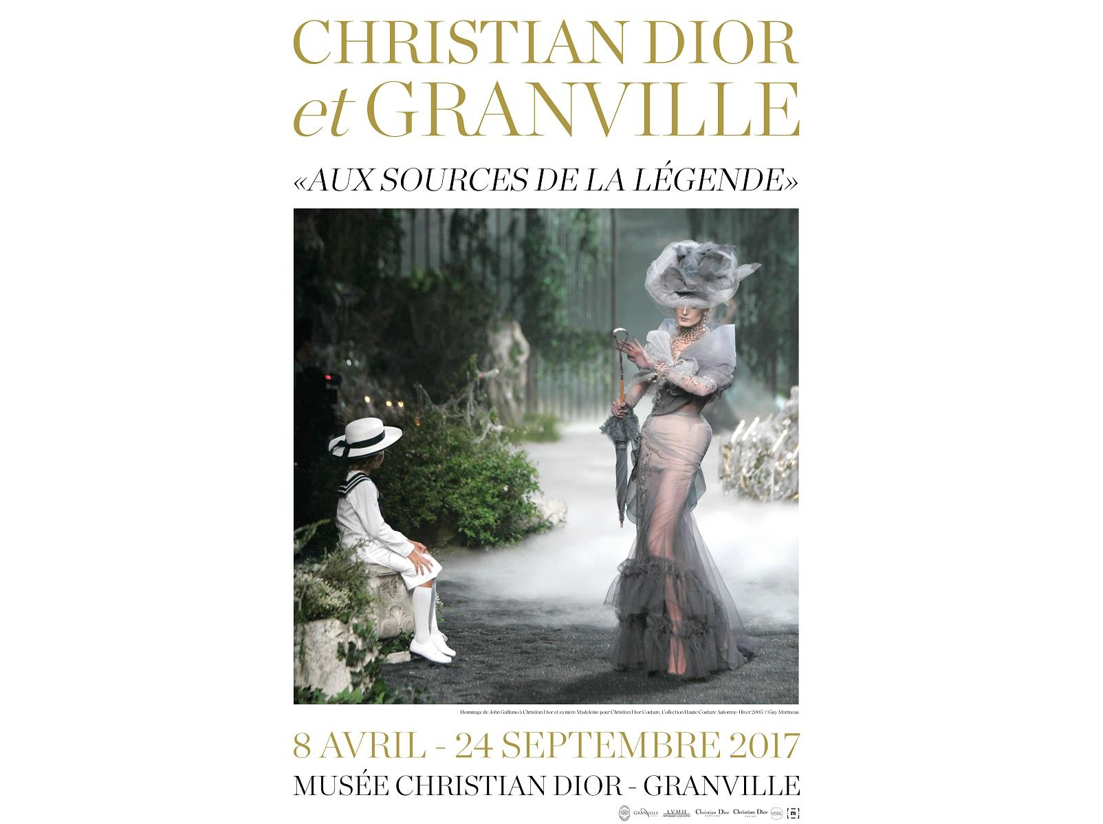 Christian Dior et Granville Fashionela