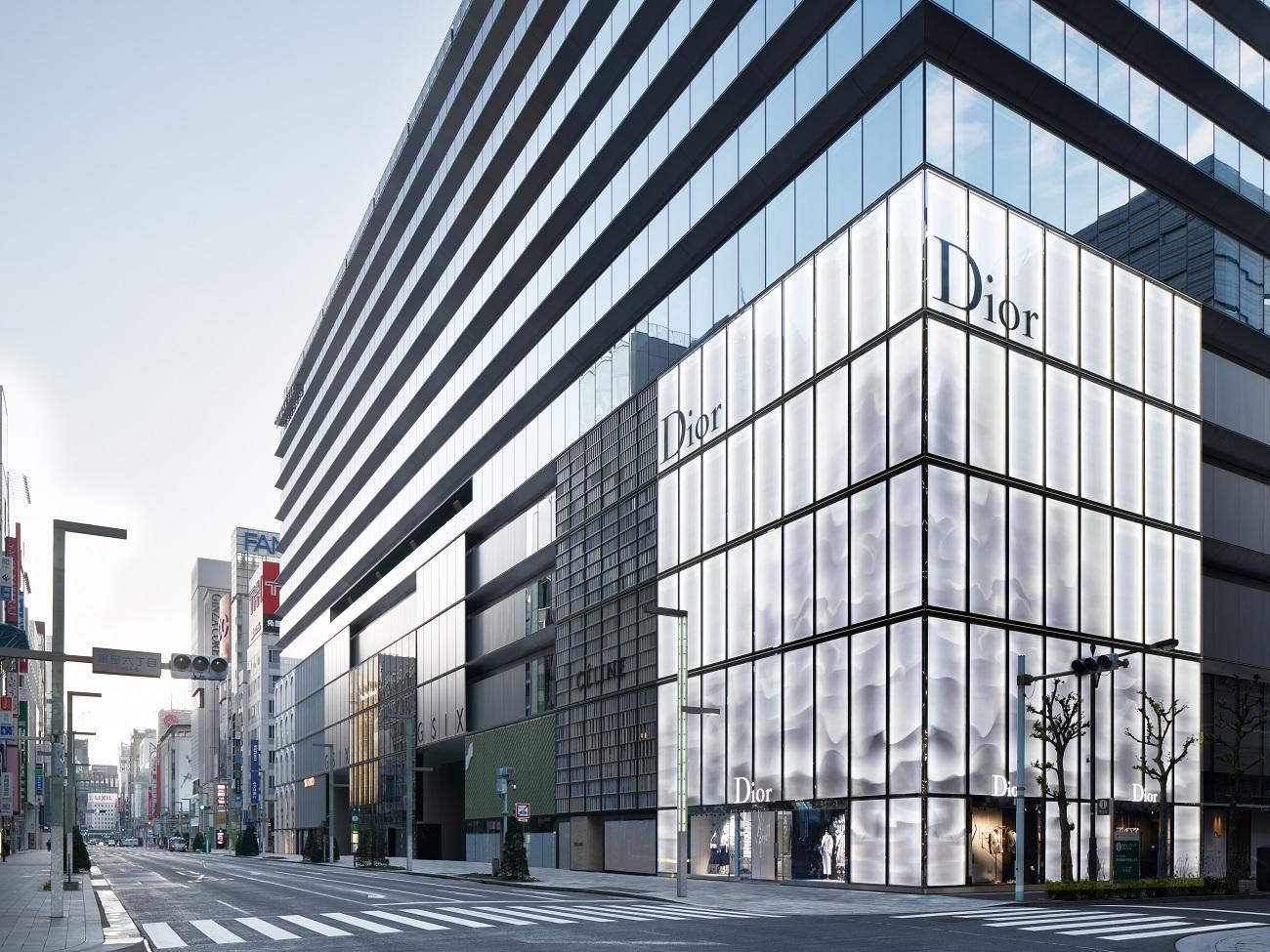 DIOR TOKYO 2017 Ginza Fashionela