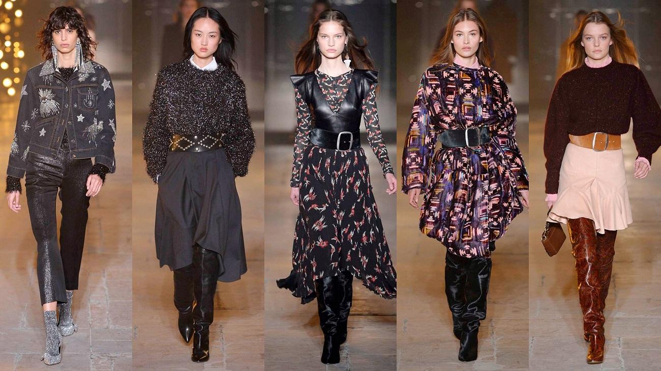 Isabel Marant Fall 2017 Fashionela