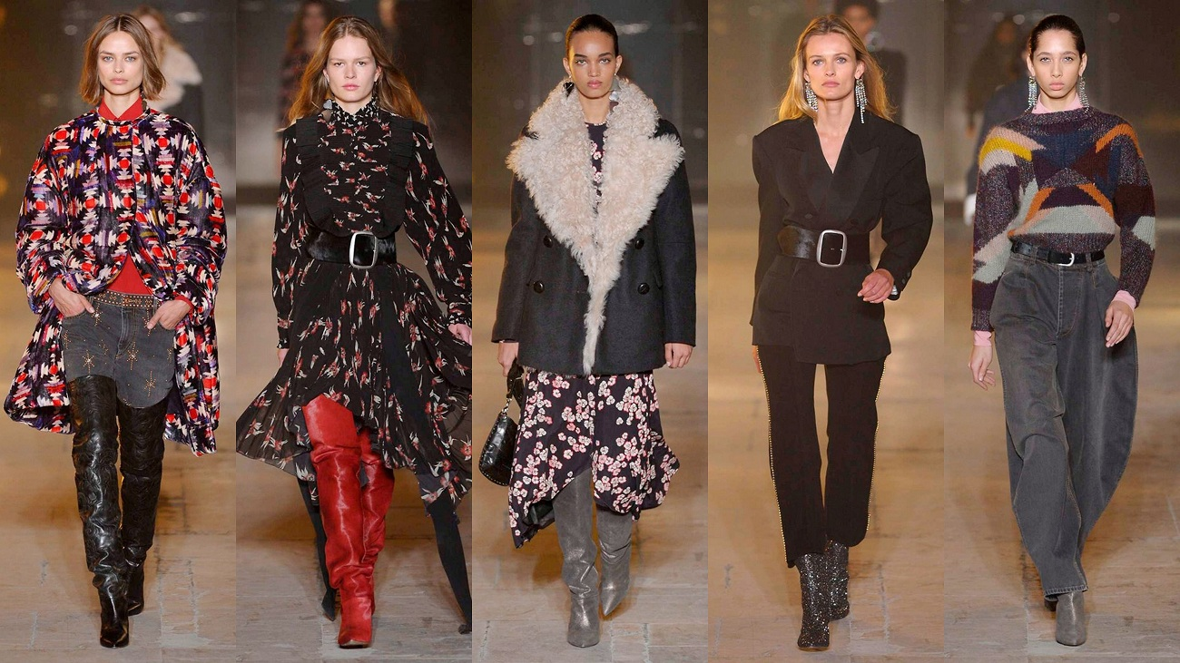 Isabel Marant Fall 2017 Fashionela