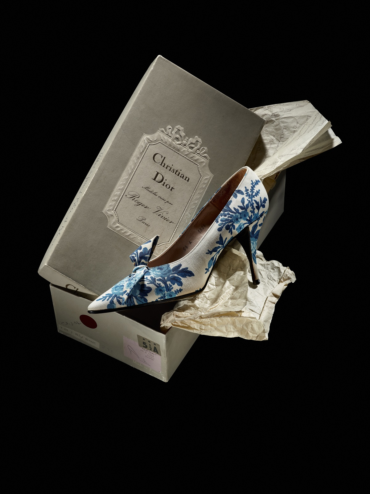 Versailles pumps Christian Dior by Roger Vivier 1960 Fashionela