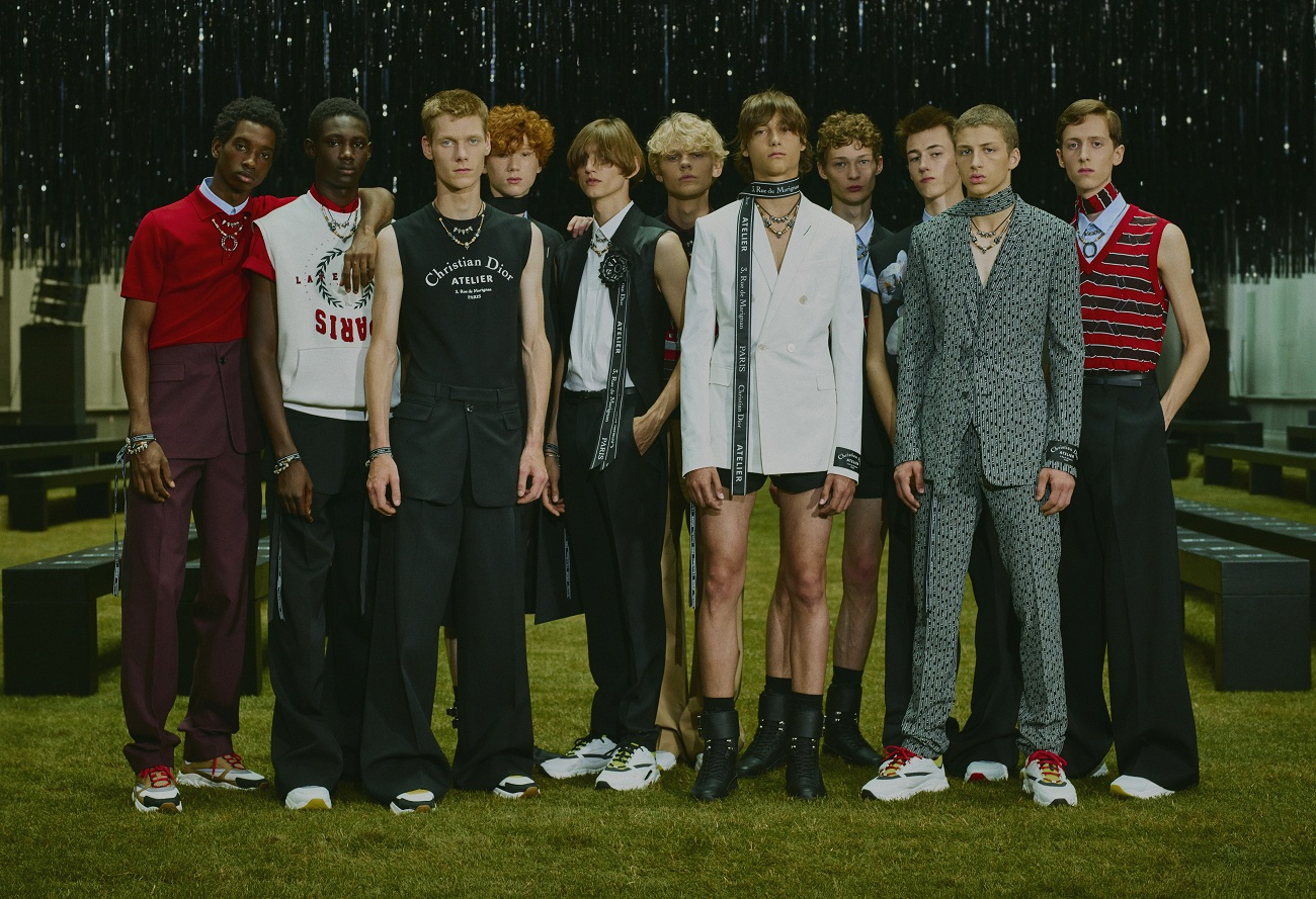 DIOR HOMME GROUPSHOT BY STEF MITCHELL FOR DIOR HOMME_Fashionela