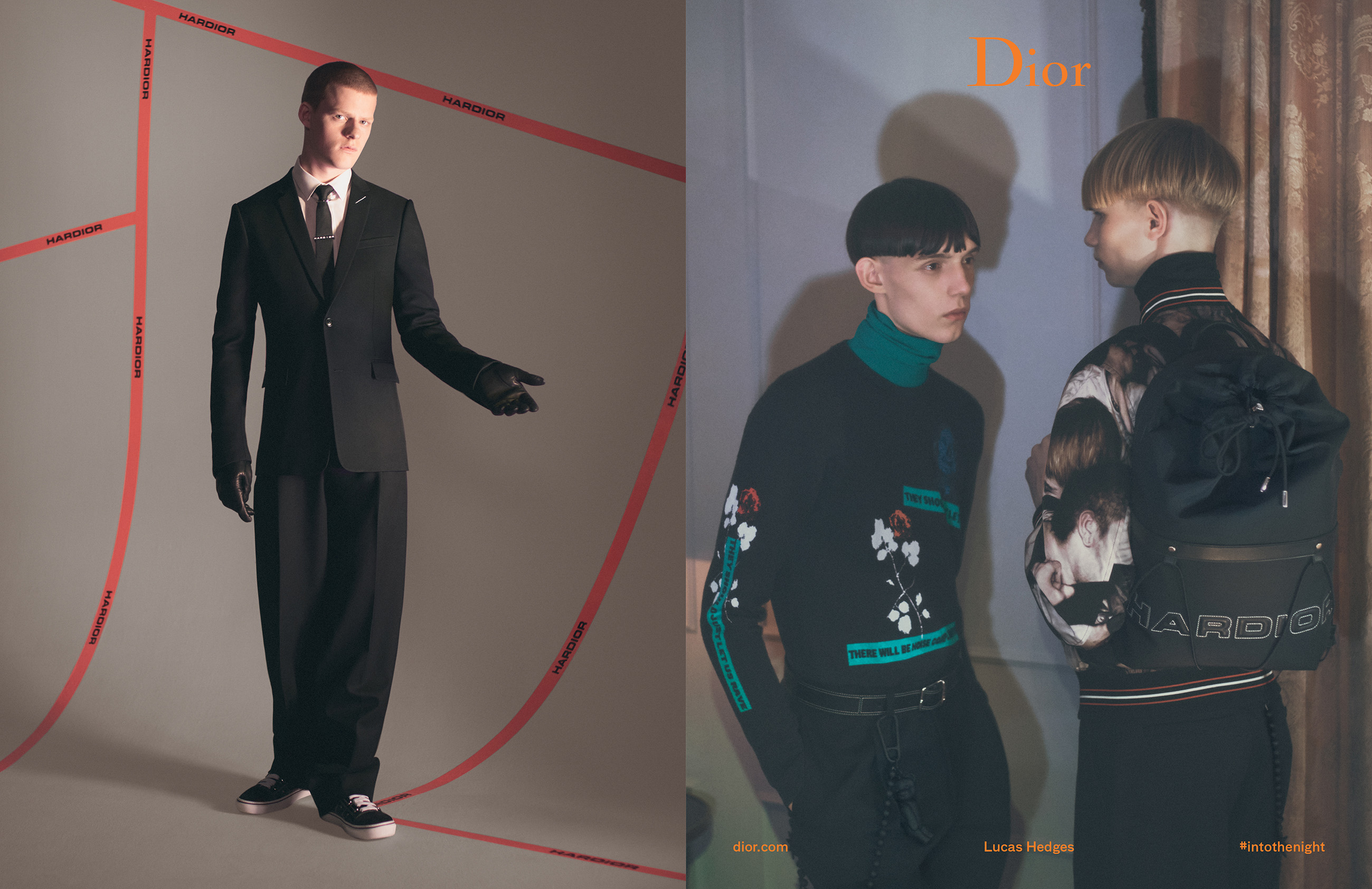 DIOR HOMME  WINTER 17-18 BY DAVID SIMS Fashionela