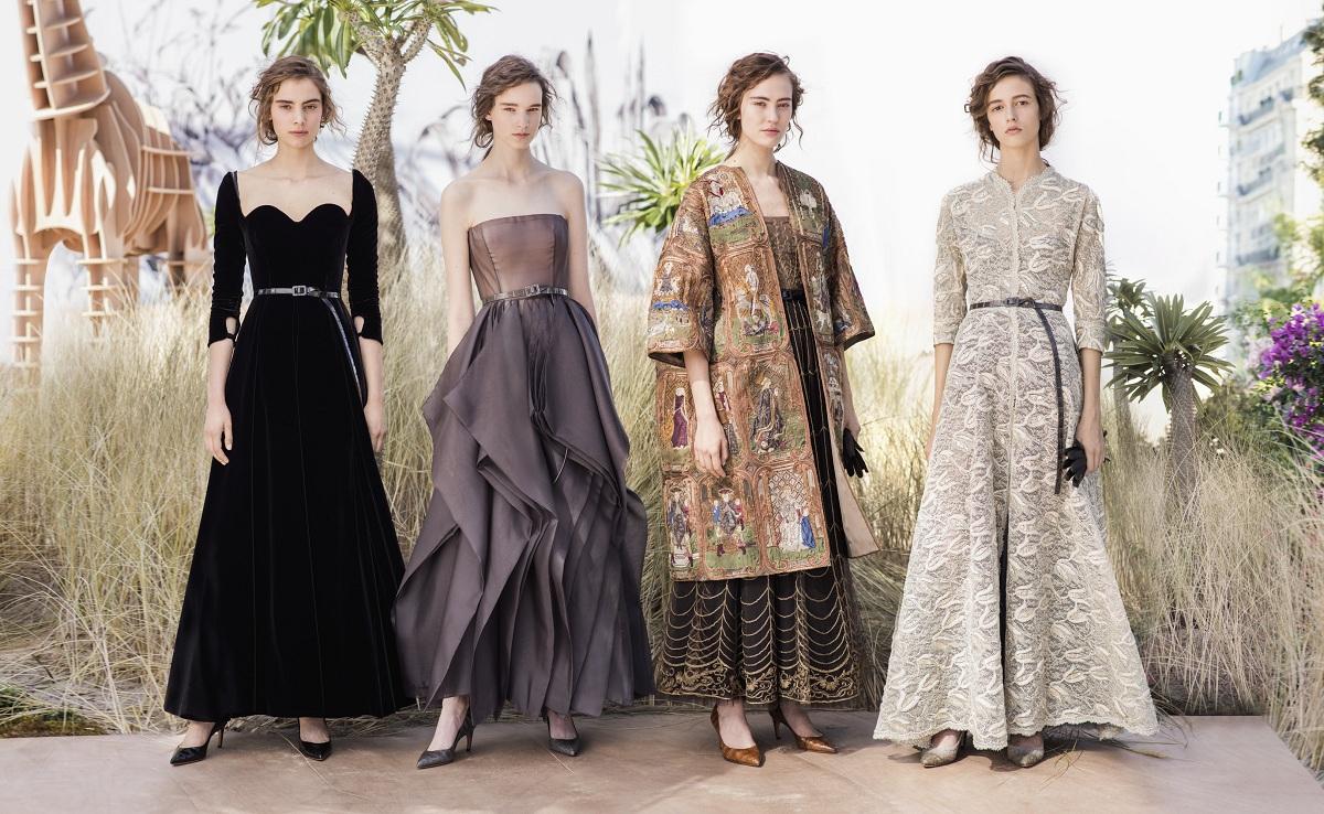 dior haute couture fall 2017fashionela. Black Bedroom Furniture Sets. Home Design Ideas