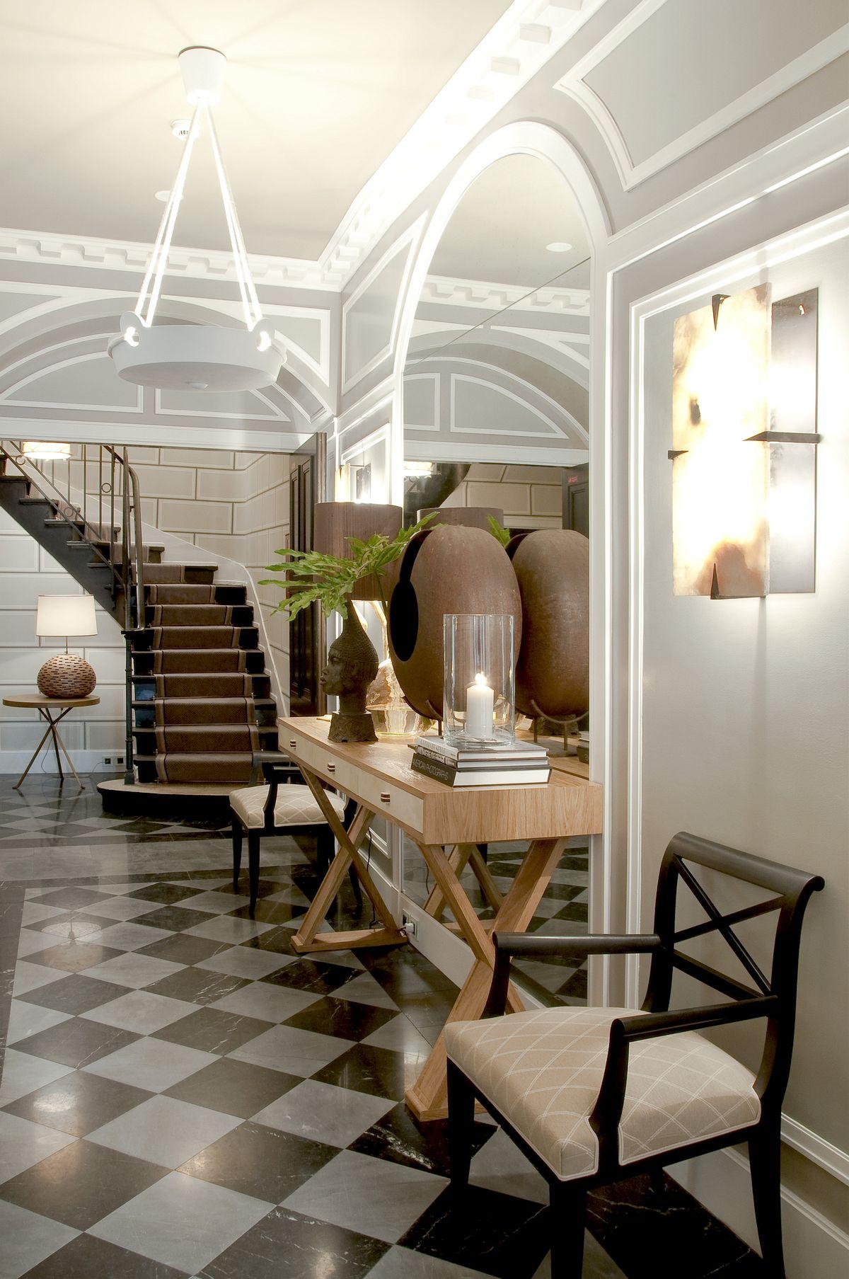 Hotel Recamier Lobby