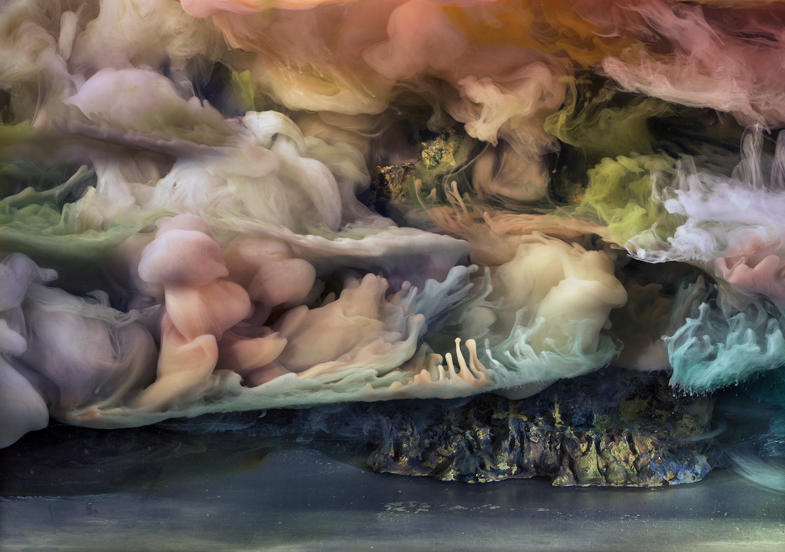 Kim Keever Abstract 35275b