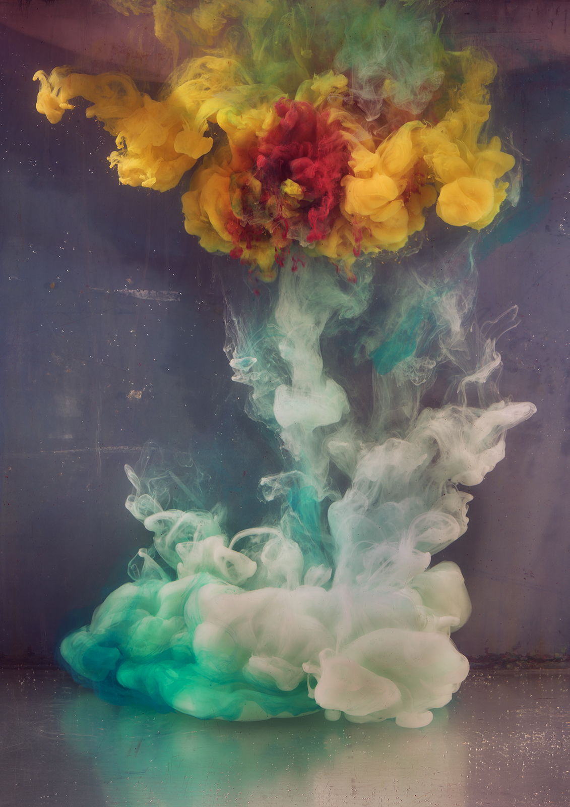 Kim Keever Abstract 35445b