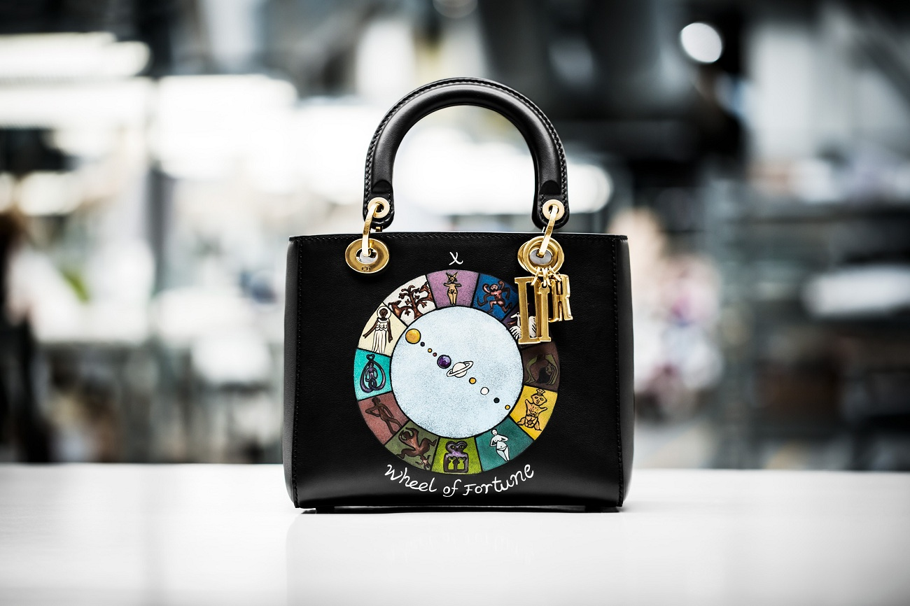 LADY DIOR THE WHEEL OF FORTUNE Fashionela