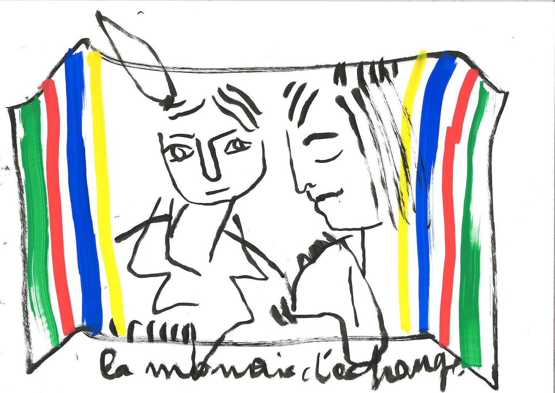 Jean-Charles de Castelbajac solo art show Fashionela