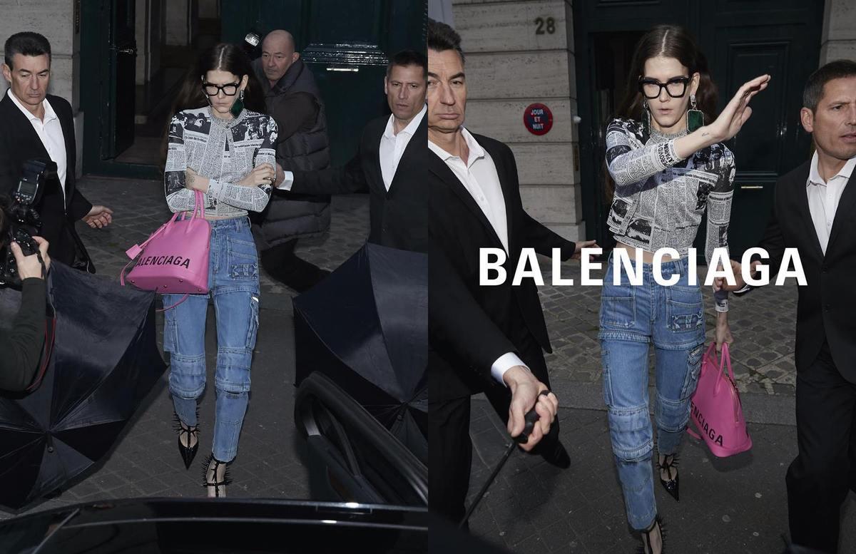 Balenciaga SS 2018 Fashionela